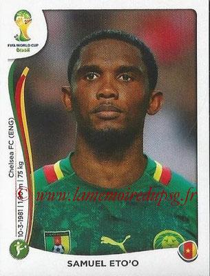 2014 - Panini FIFA World Cup Brazil Stickers - N° 107 - Samuel ETO'O (Cameroun)