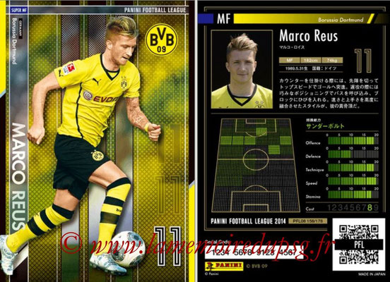 Panini Football League 2014 - PFL08 - N° 158 - Marco REUS (Borussia Dortmund) (Super MF)
