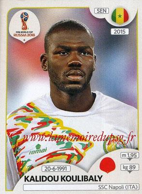 2018 - Panini FIFA World Cup Russia Stickers - N° 617 - Kalidou KOULIBALY (Senegal)