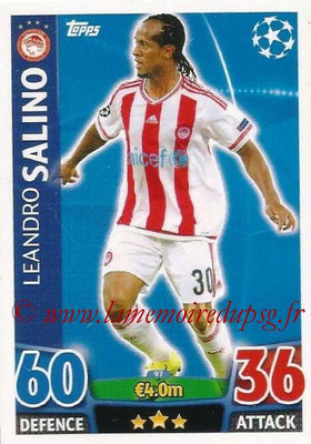 2015-16 - Topps UEFA Champions League Match Attax - N° 097 - Leandro SALINO (Olympiacos FC)