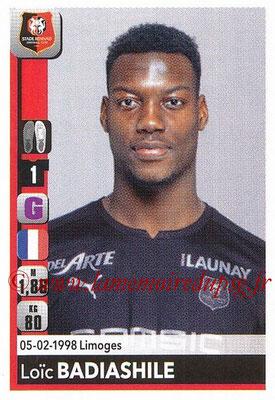 2018-19 - Panini Ligue 1 Stickers - N° T34 - Loïc BADIASHILE (Rennes) (Transfert)