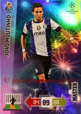 2012-13 - Adrenalyn XL champions League N° 340 - Joao MOUTINHO (FC Porto) (Master)