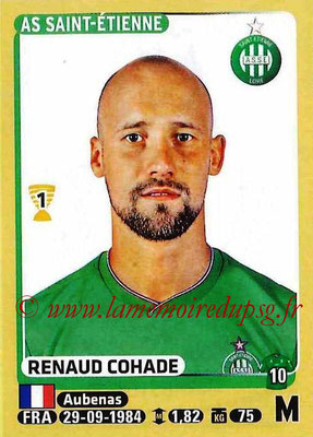 2015-16 - Panini Ligue 1 Stickers - N° 423 - Renaud COHADE (AS Saint-Etienne)