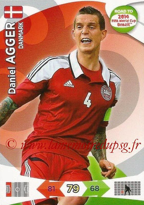 2014 - Panini Road to FIFA World Cup Brazil Adrenalyn XL - N° 038 - Daniel AGGER (Danemark)