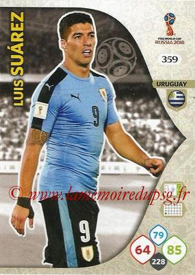 2018 - Panini FIFA World Cup Russia Adrenalyn XL - N° 359 - Luis SUAREZ (Uruguay)