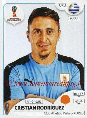 2018 - Panini FIFA World Cup Russia Stickers - N° 106 - Cristian RODRIGUEZ (Uruguay)