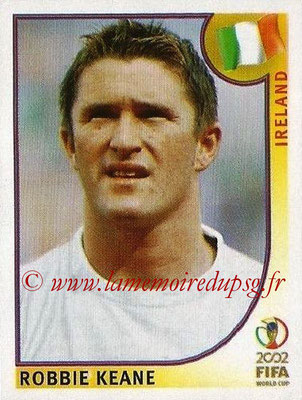 2002 - Panini FIFA World Cup Stickers - N° 365 - Robbie KEANE (Irlande)