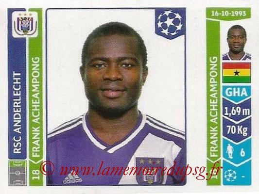 2014-15 - Panini Champions League N° 323 - Franck ACHEAMPONG (RSC Anderlecht)