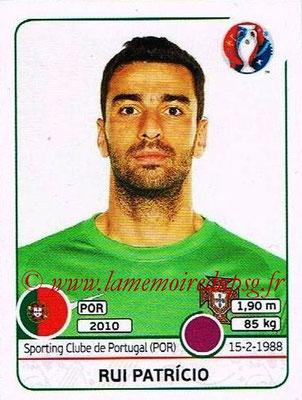 Panini Euro 2016 Stickers - N° 577 - Rui PATRICIO (Portugal)