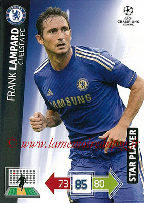 2012-13 - Adrenalyn XL champions League N° 092 - Frank LAMPARD (Chelsea FC) (Star Player)