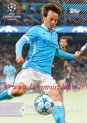 2015-16 - Topps UEFA Champions League Showcase Soccer - N° 090 - David SILVA (Manchester City FC)