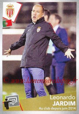 2017-18 - Panini Ligue 1 Stickers - N° 282 - Leonardo JARDIM (Entraîneur Monaco)