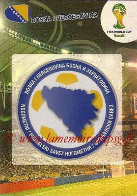 2014 - Panini FIFA World Cup Brazil Adrenalyn XL - N° 037 - Logo Bosnie-Herzegovine