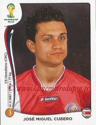 2014 - Panini FIFA World Cup Brazil Stickers - N° 290 - Jose Miguel CUBERO (Costa Rica)