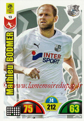 N° 013 - Mathieu BODMER (2010-Jan 2013, PSG > 2018-19, Amiens)