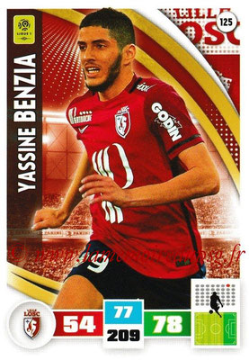 2016-17 - Panini Adrenalyn XL Ligue 1 - N° 125 - Yassine BENZIA (Lille)