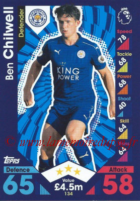 2016-17 - Topps Match Attax Premier League - N° 134