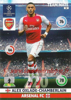 2014-15 - Adrenalyn XL champions League N° 050 - Alex OXLADE-CHAMBERLAIN (Arsenal FC)