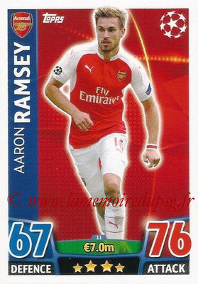 2015-16 - Topps UEFA Champions League Match Attax - N° 011 - Aaron RAMSEY (Arsenal FC)