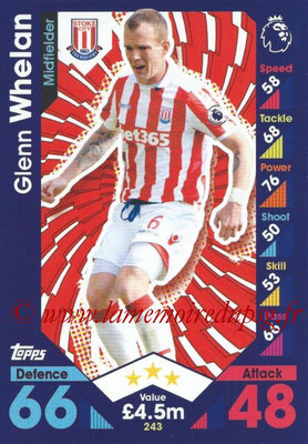 2016-17 - Topps Match Attax Premier League - N° 243