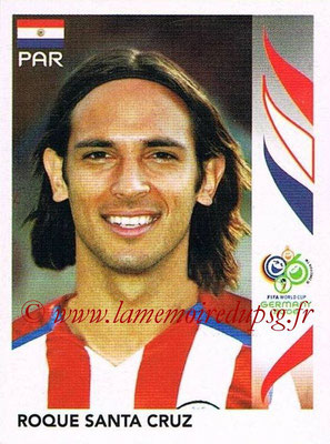 2006 - Panini FIFA World Cup Germany Stickers - N° 129 - Roque SANTA CRUZ (Paraguay)