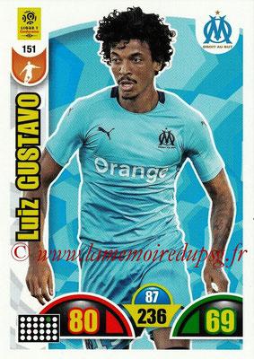 2018-19 - Panini Adrenalyn XL Ligue 1 - N° 151 - Luiz GUSTAVO (Marseille)