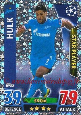 2015-16 - Topps UEFA Champions League Match Attax - N° 267 - HULK (FC Zenit) (Star Player)