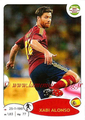 2014 - Panini Road to FIFA World Cup Brazil Stickers - N° 135 - Xabi ALONSO (Espagne)