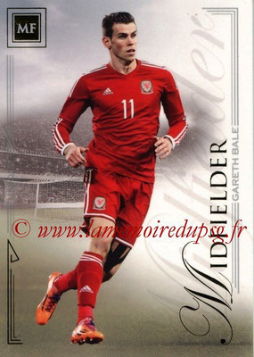 2014 - Futera World Football Unique - N° 033 - Gareth BALE (Midfielder)
