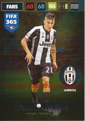 2016-17 - Panini Adrenalyn XL FIFA 365 - N° 069 - Paulo DYBALA (Juventus FC) (Fans' Favourite)