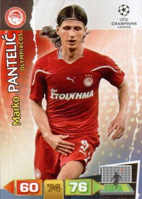 2011-12 - Panini Champions League Cards - N° 191 - Marko PANTELIC (Olympiacos)