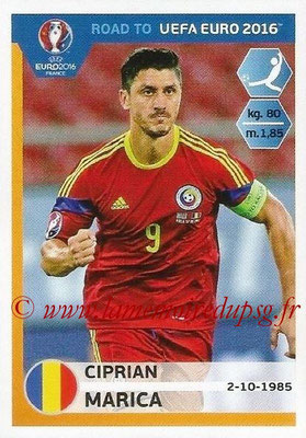 Panini Road to Euro 2016 Stickers - N° 254 - Ciprian MARICA (Roumanie)