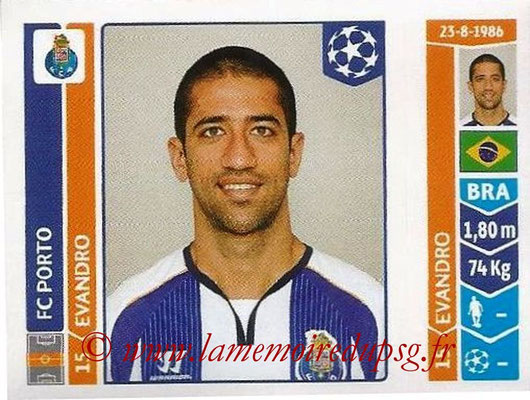 2014-15 - Panini Champions League N° 574 - EVANDRO (FC Porto)