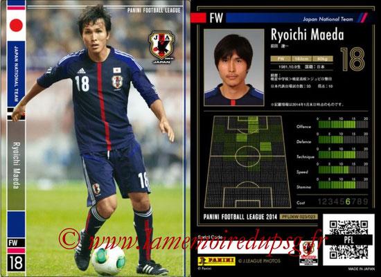 Panini Football League 2014 - PFL06W - N° 023 - Ryoichi MAEDA (Japon)