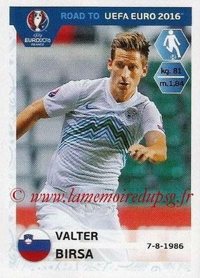 Panini Road to Euro 2016 Stickers - N° 301 - Valter BIRSA (Slovénie)
