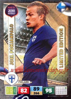 2018 - Panini Road to FIFA World Cup Russia Adrenalyn XL - N° LE-JP - Joel POHJANPALO (Finalnde) (Limited Edition)