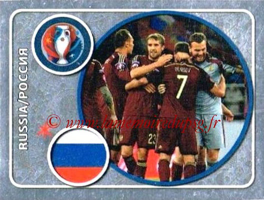 Panini Euro 2016 Stickers - N° 123 - Équipe de Russie