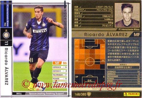 2013-14 - WCCF - N° 168 - Ricardo ALVAREZ (Inter Milan)