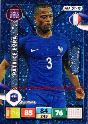 2018 - Panini Road to FIFA World Cup Russia Adrenalyn XL - N° FRA13 - Patrice EVRA (France) (Expert)