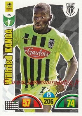 2018-19 - Panini Adrenalyn XL Ligue 1 - N° 035 - Wilfried KANGA (Angers)