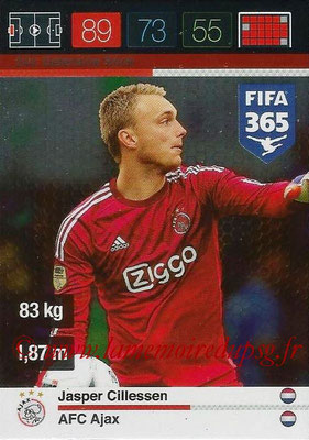2015-16 - Panini Adrenalyn XL FIFA 365 - N° 244 - Jasper CILLESSEN (AFC Ajax) (Defensive Rock)