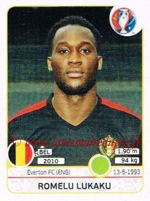 Panini Euro 2016 Stickers - N° 484 - Romelu LUKAKU (Belgique)