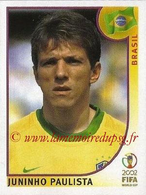2002 - Panini FIFA World Cup Stickers - N° 181 - Juninho PAULISTA (Brésil)