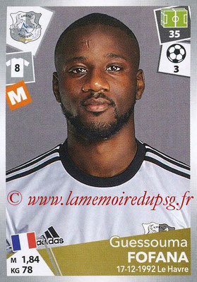 2017-18 - Panini Ligue 1 Stickers - N° 011 - Guessouma FOFANA (Amiens)