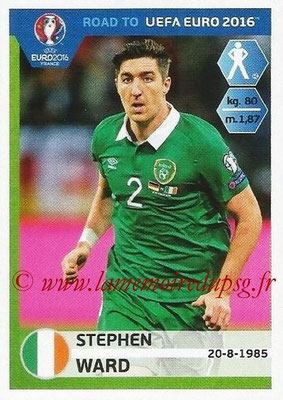 Panini Road to Euro 2016 Stickers - N° 150 - Stephen WARD (Eire)