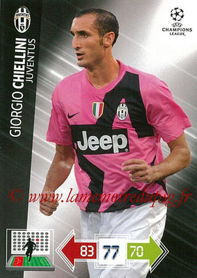 2012-13 - Adrenalyn XL champions League N° 110 - Giorgio CHIELLINI (Juventus FC)