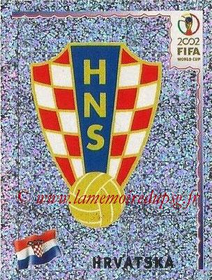 2002 - Panini FIFA World Cup Stickers - N° 476 - Logo Croatie