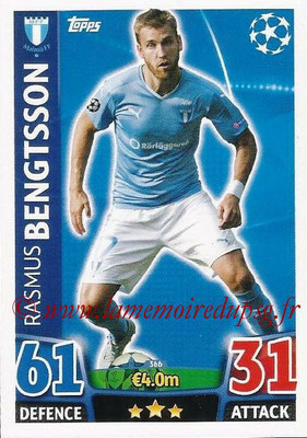 2015-16 - Topps UEFA Champions League Match Attax - N° 366 - Rasmus BENGTSSON (Malmö FF)