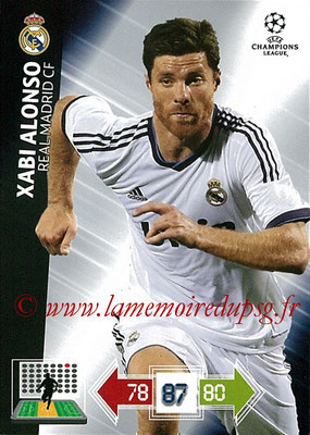 2012-13 - Adrenalyn XL champions League N° 231 - Xabi ALONSO (Real Madrid CF)