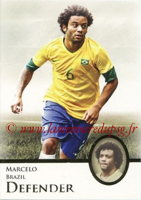 2013 - Futera World Football Unique - N° 022 - MARCELO (Brésil) (Defender)